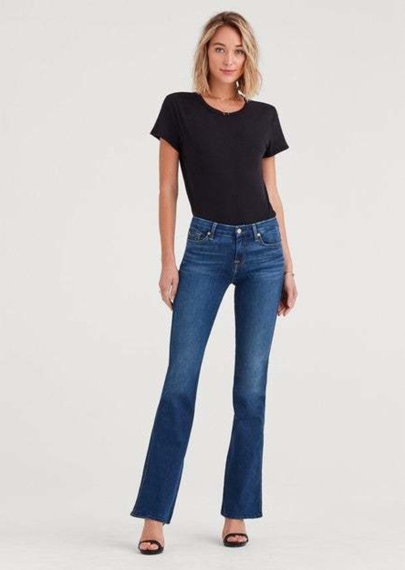 """7 For All Mankind b(air) """"A"""" Pocket Flare in Duchess"""