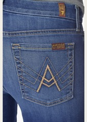 "7 For All Mankind b(air) Denim ""A"" Pocket Flare in Reign"