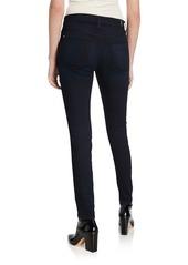 7 For All Mankind B(Air) Denim High-Waist Skinny Jeans  River Thames