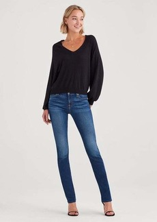 7 For All Mankind b(air) Kimmie Straight in Duchess
