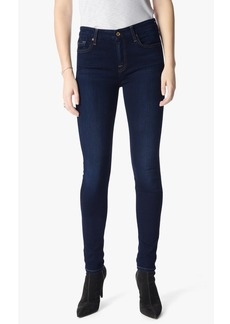 B(air) Denim Skinny With Spice Contrast Squiggle in Tranquil Blue