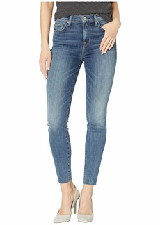 7 For All Mankind B(Air) High Waist Ankle Skinny in Luck