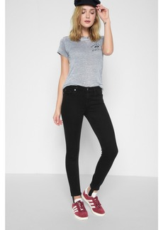 B(air) High Waist Ankle Skinny With Stirrup in Black