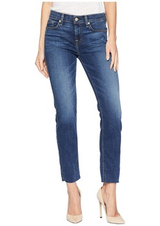 7 For All Mankind B(Air) Roxanne Ankle w/ Cut Off Hem in Echo