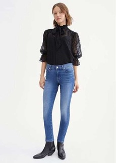 7 For All Mankind B(air) Skinny in Atlantic