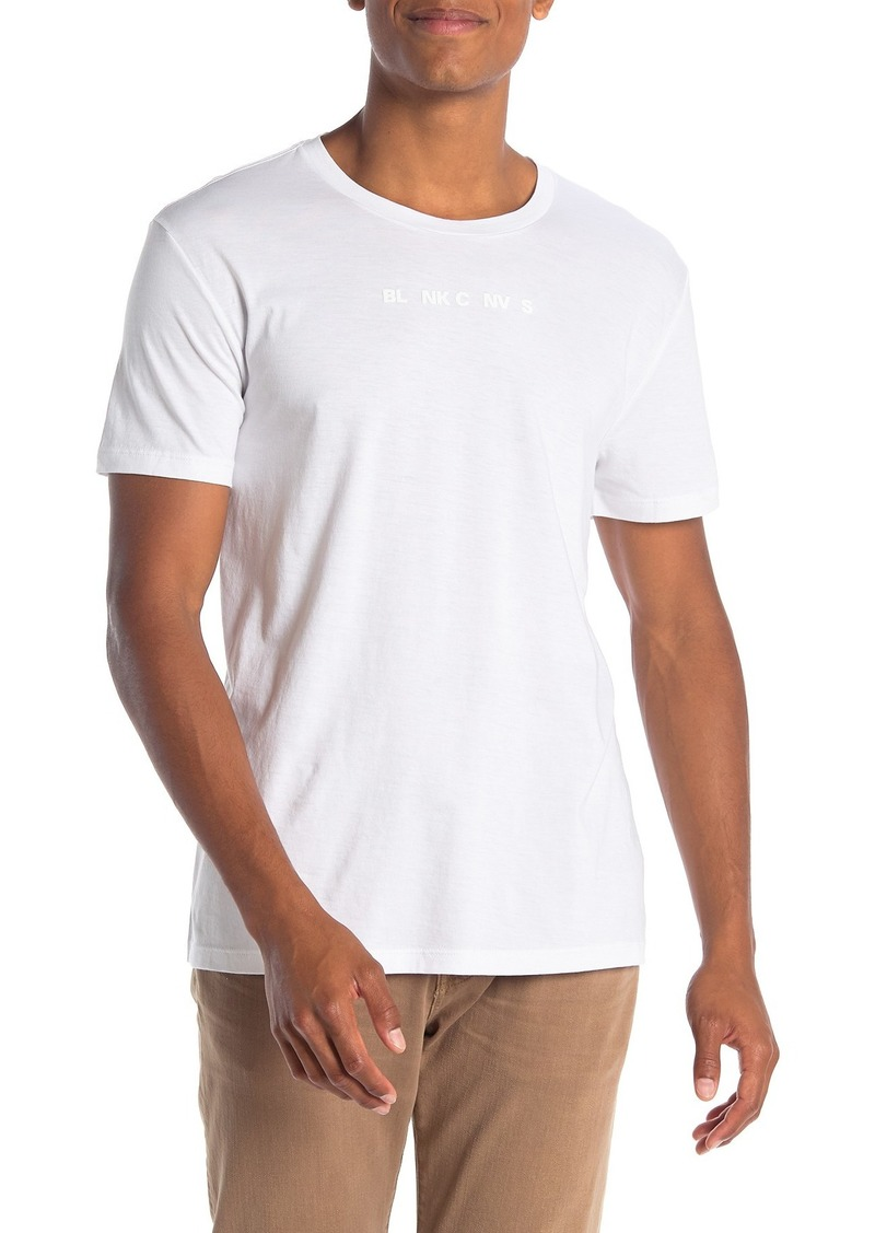 7 For All Mankind Blank Canvas Graphic T-Shirt