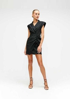 7 For All Mankind Blazer Dress in Jet Black