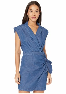 7 For All Mankind Blazer Dress w/ Ruffle