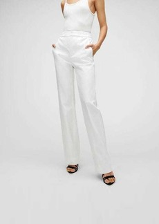 7 For All Mankind Bootcut Trouser in Optic White