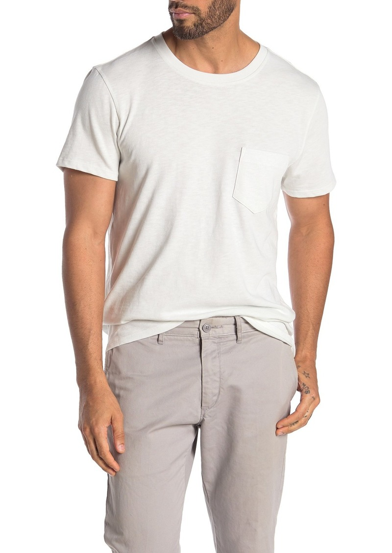 7 For All Mankind Boxer Pocket Slub T-Shirt