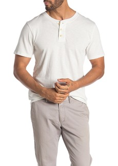 7 For All Mankind Boxer Short Sleeve Henley