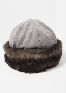 7 For All Mankind Brixton Elaina Cap in Grey
