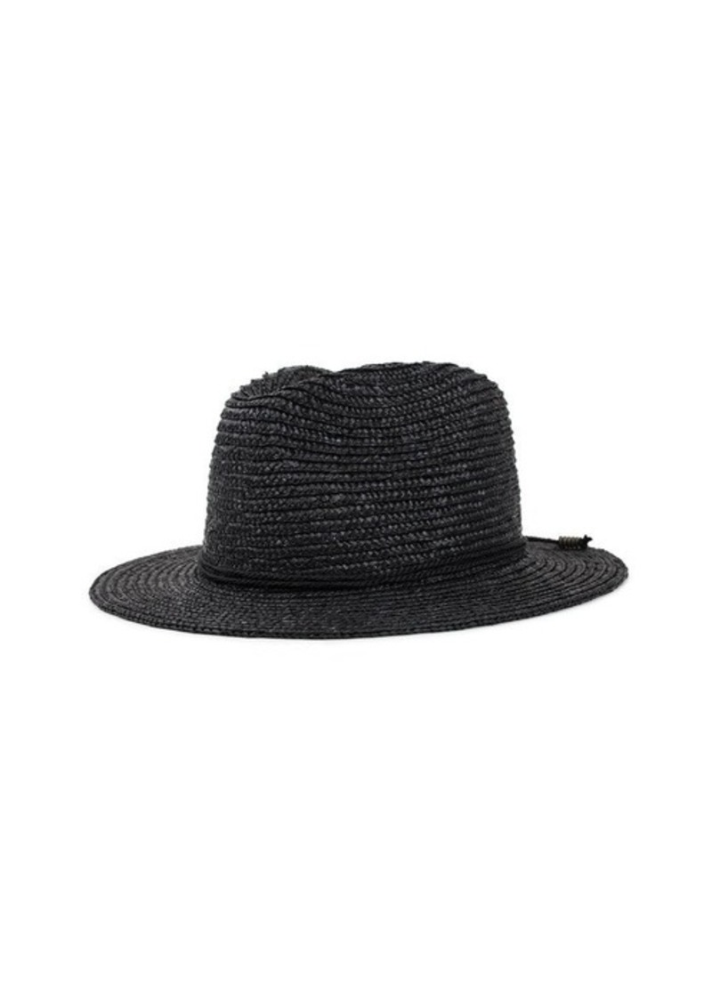 7 For All Mankind Brixton Lera Fedora in Black