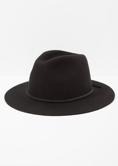 7 For All Mankind Brixton Wesley Fedora in Black