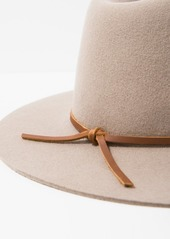 7 For All Mankind Brixton Wesley Fedora in Natural
