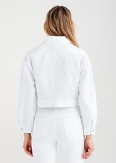 7 For All Mankind Bubble Jacket in White Fashion