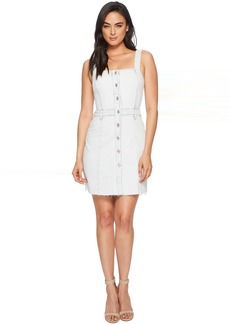 7 For All Mankind Button Front Dress in Desert Sun Bleached 1