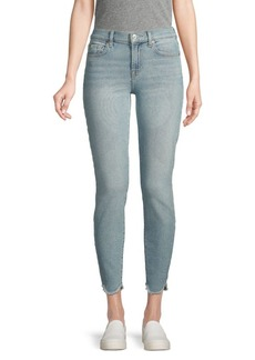 7 For All Mankind Buttoned Ankle Jeans