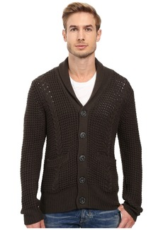 7 For All Mankind Cable Shawl Cardigan