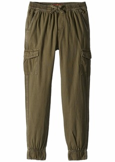 7 For All Mankind Cargo Canvas Jogger Pants (Big Kids)