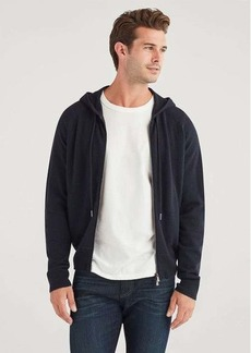 7 For All Mankind Cashmere Hoodie in Navy