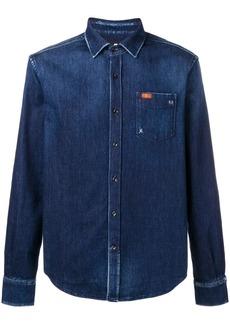 7 For All Mankind chest pocket denim shirt