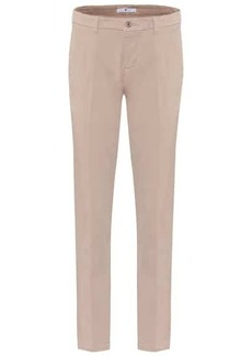 7 For All Mankind Chino cotton-blend sateen pants