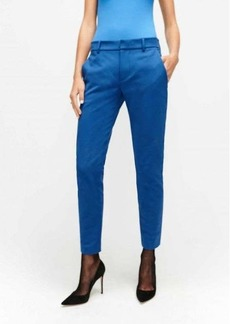 7 For All Mankind Cigarette Trouser in Electric Blue