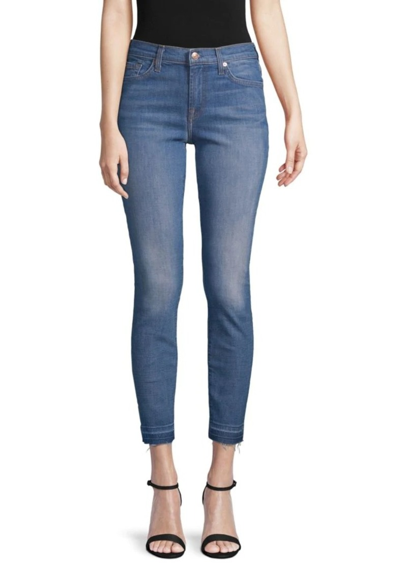 7 For All Mankind Classic Ankle Skinny Jeans