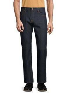7 For All Mankind Clean Straight Leg Jeans