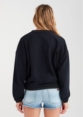 7 For All Mankind Collage Sweatshirt in Black
