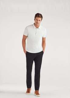 7 For All Mankind Corduroy Slim Chino in Black