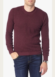 7 For All Mankind Crewneck Sweater in Burgundy