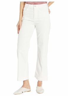 7 For All Mankind Cropped Alexa in Ivory