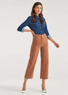 7 For All Mankind Cropped Alexa Vintage Cord in Penny