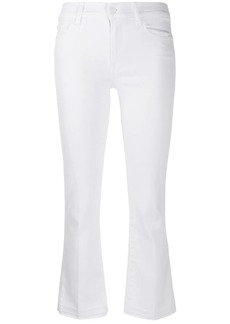 7 For All Mankind Cropped Bootcut Illusion jeans