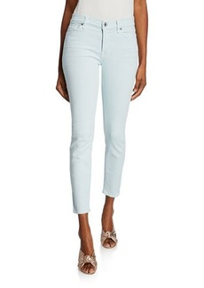 7 For All Mankind Cropped Skinny-Leg Jeans