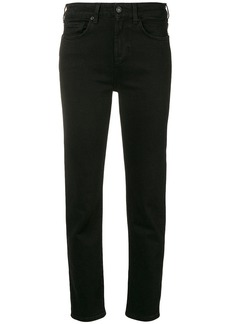 7 For All Mankind cropped slim fit denim trousers