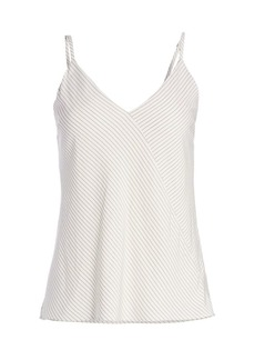 7 For All Mankind Cross Front Camisole