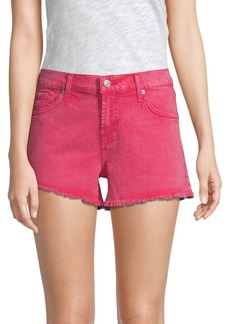 7 For All Mankind Cut-Off Denim Shorts