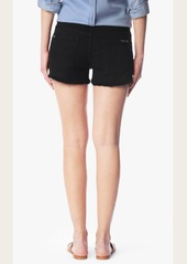 7 For All Mankind Cut Off Short in Black