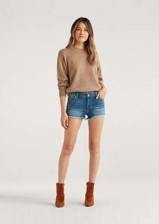 7 For All Mankind Cut Off Short in Ocean Mist