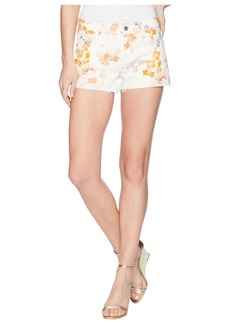 7 For All Mankind Cut Off Shorts in Loft Garden