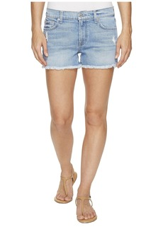 7 For All Mankind Cut Off Shorts in Melbourne Sky