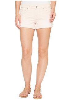 7 For All Mankind Cut Off Shorts in Peony