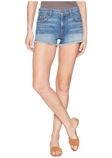 7 For All Mankind Cut Off Shorts with Step Hem in Desert Oasis