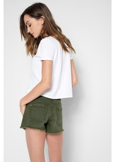 Cutt Off Short in Olive