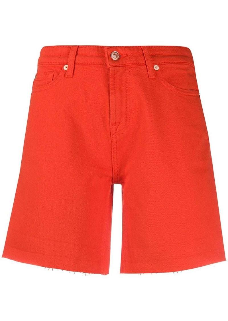 7 For All Mankind denim boy shorts