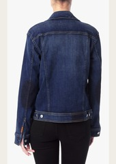 7 For All Mankind Denim Jacket with Shadow Pockets