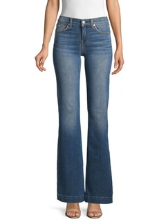 7 For All Mankind Dojo Charlston Flared Jeans